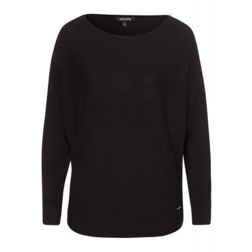 Pullover, Fledermausärmel, schwarz