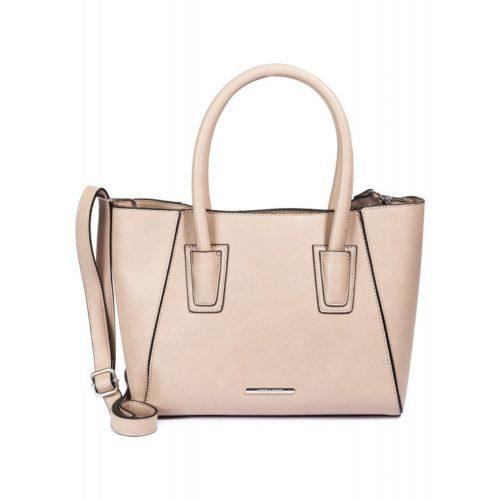 kleine Handtasche, beige