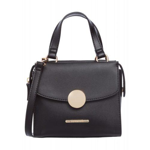 kleine Handtasche, schwarz