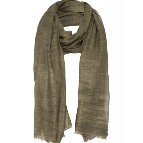 leichter Schal, olive