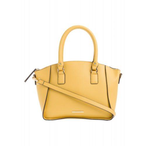 Handtasche, gelb