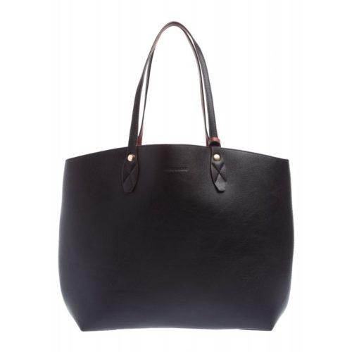 XL Shopper, schwarz/braun
