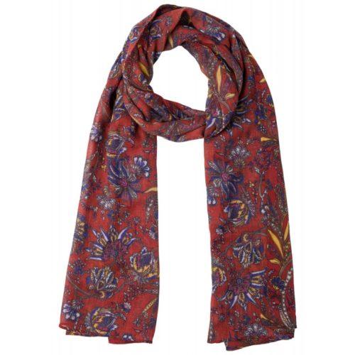 Schal, Flower/Paisley Print