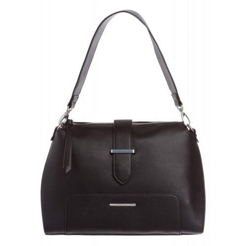 Handtasche, schwarz