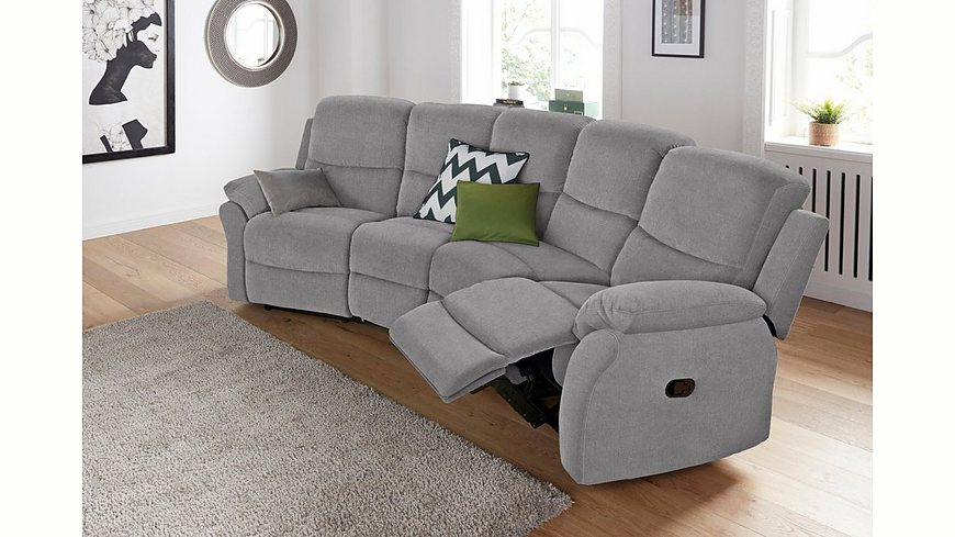 Big-Sofa, mit Reclinerfunktion