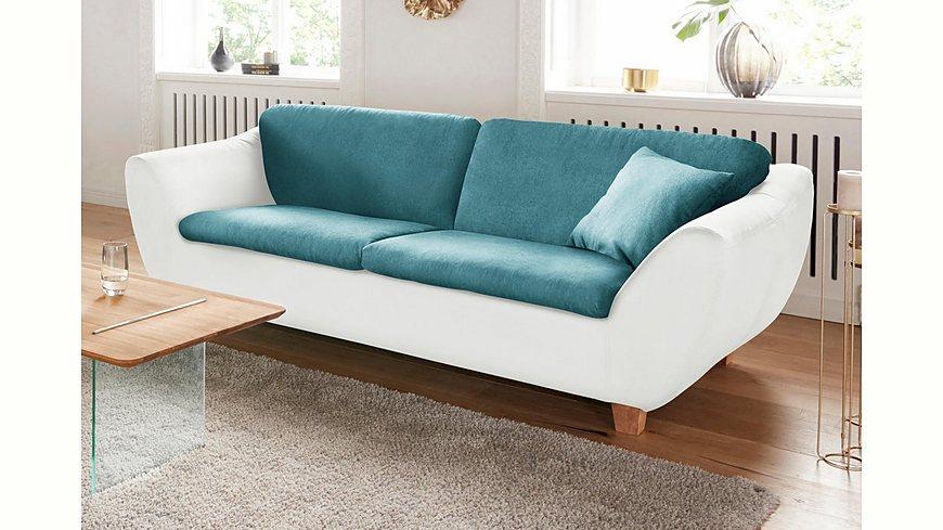 DOMO Collection 3-Sitzer, wahlweise mit Federkern