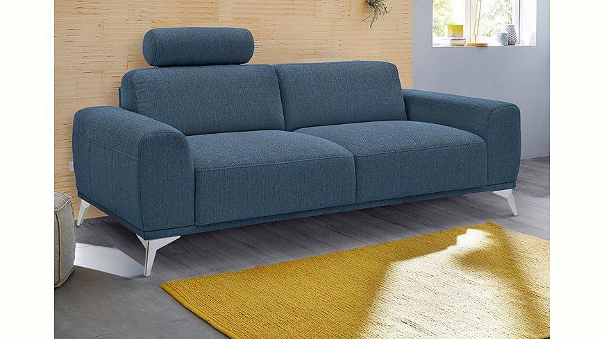 GMK Home & Living 2-Sitzer Sofa »Tea«, mit Kopfstütze
