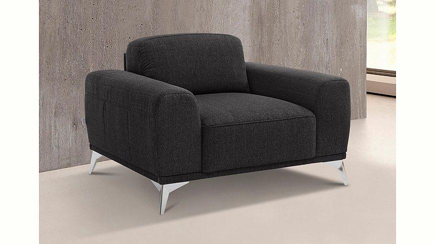 GMK Home & Living Sessel »Tea«, mit Metallfüßen