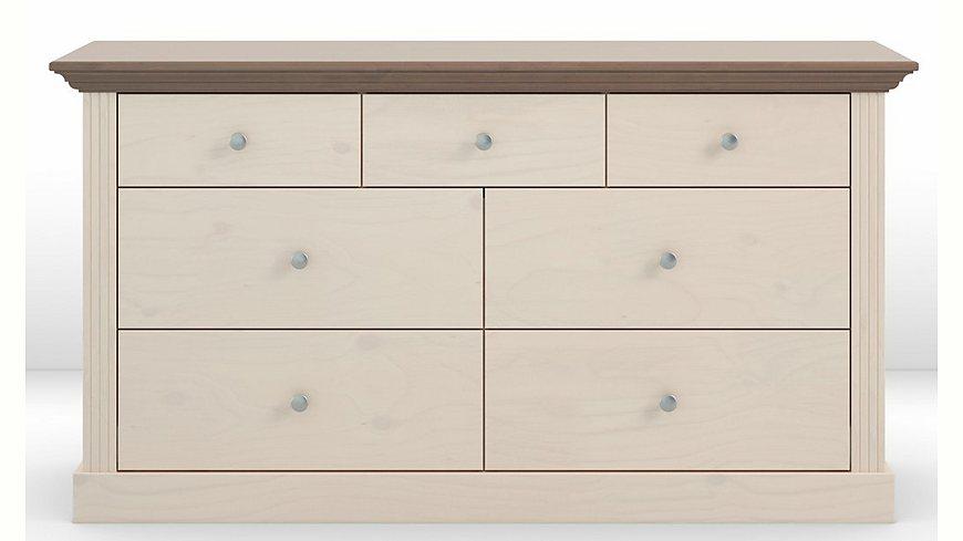 Home affaire Kommode »Skanderborg«, Breite 145 cm, mit 7 Schubladen