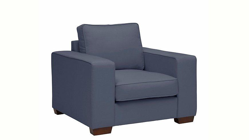 Max Winzer® Sessel »Flip« mit dekorativer Keder-Verzierung