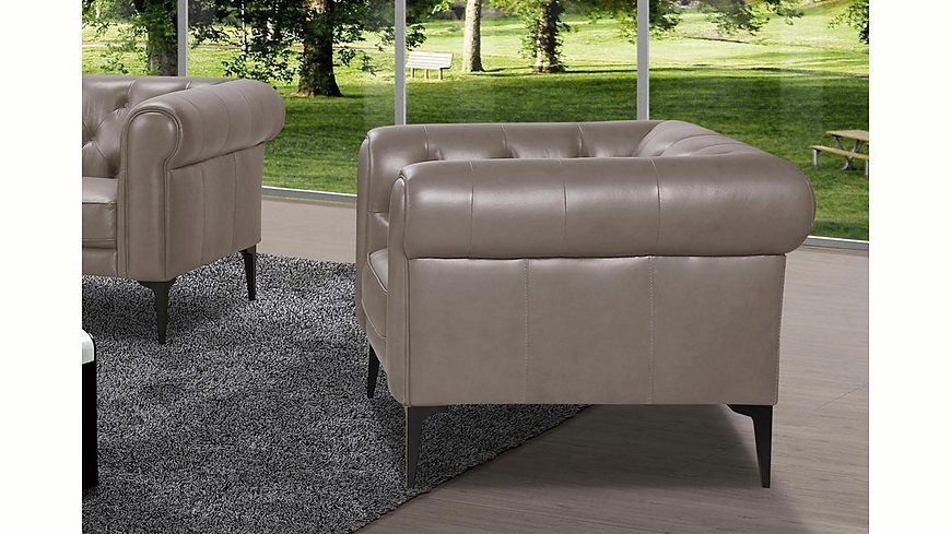 Premium collection by Home affaire Sessel »Tobol« im modernen Chesterfield Design