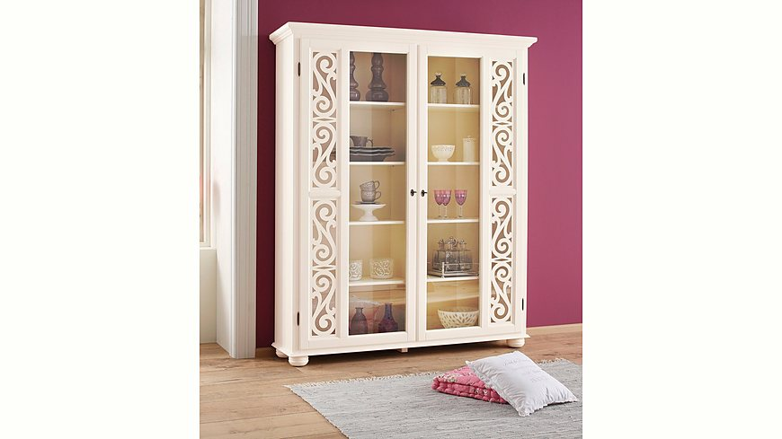 Premium collection by Home affaire Vitrine »Arabeske«, Höhe 190 cm