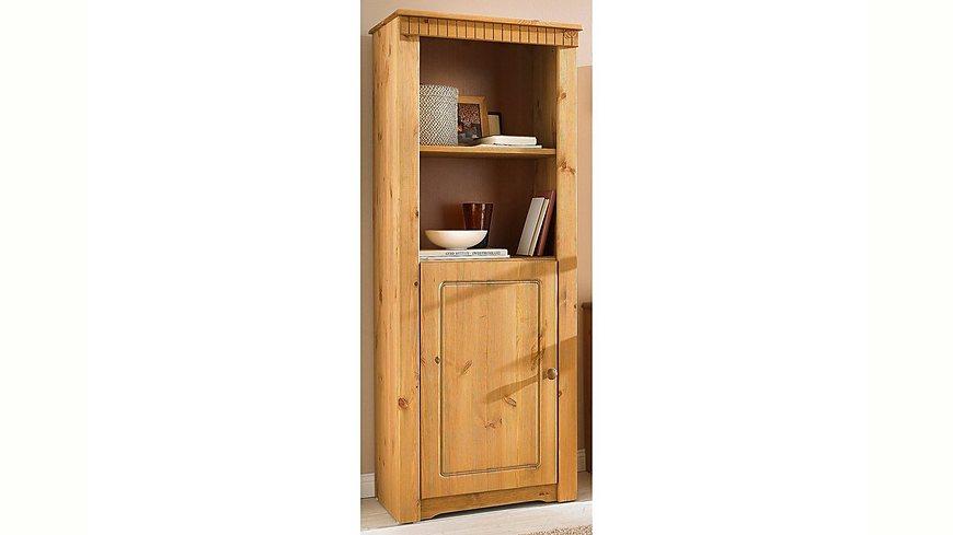 Regal mit Tür, Home affaire, Breite 55 cm, Höhe 138 cm