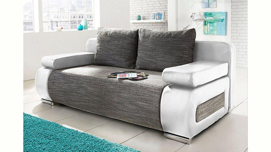 Schlafsofa, wahlweise mit LED-Unterbeleuchtung, Energieeffizienz: A