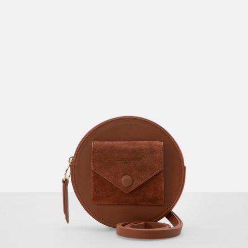 Liebeskind Berlin - Tasche aus verschiedenem Leder, Braun