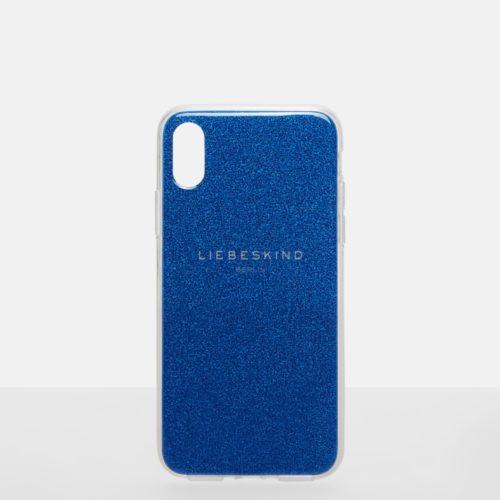 Liebeskind Berlin - Handycase mit Glitter, Blau