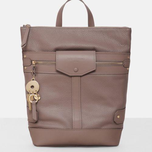 Liebeskind Berlin - Tasche Neo Casual Pocket Backpack M, Grau/Schwarz