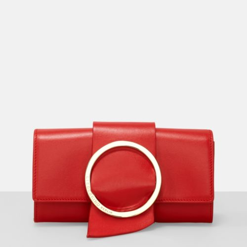 Liebeskind Berlin - Geldbörse B Wallet in eleganter Clutch, Rot
