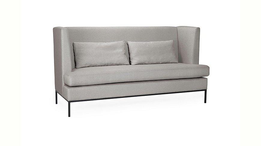 andas 3-Sitzer »Town« moderner Style, Metallrahmen-Füße, Zierkissen, Sitzhöhe 50 cm