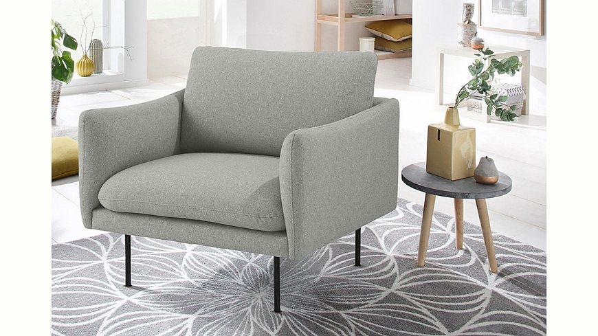 andas Sessel »Mavis« mit losen Sitz- und Rückenkissen, skandinavischer Stil