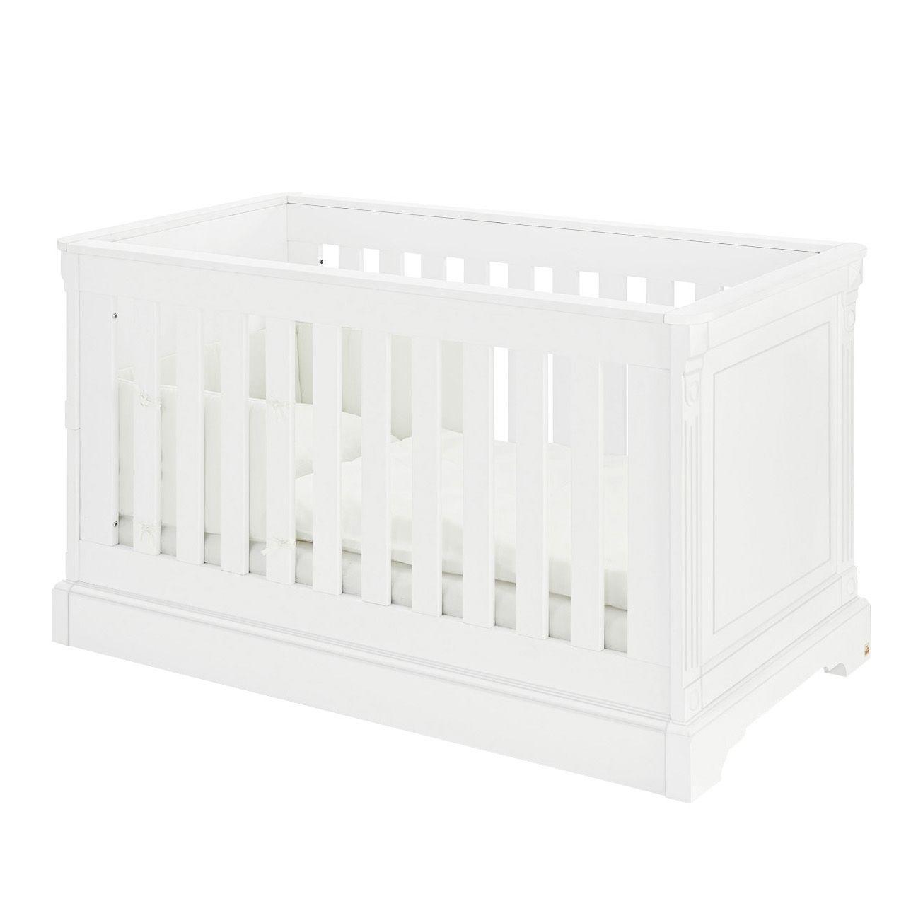 Babybett Emilia Kids - Weiß, Pinolino