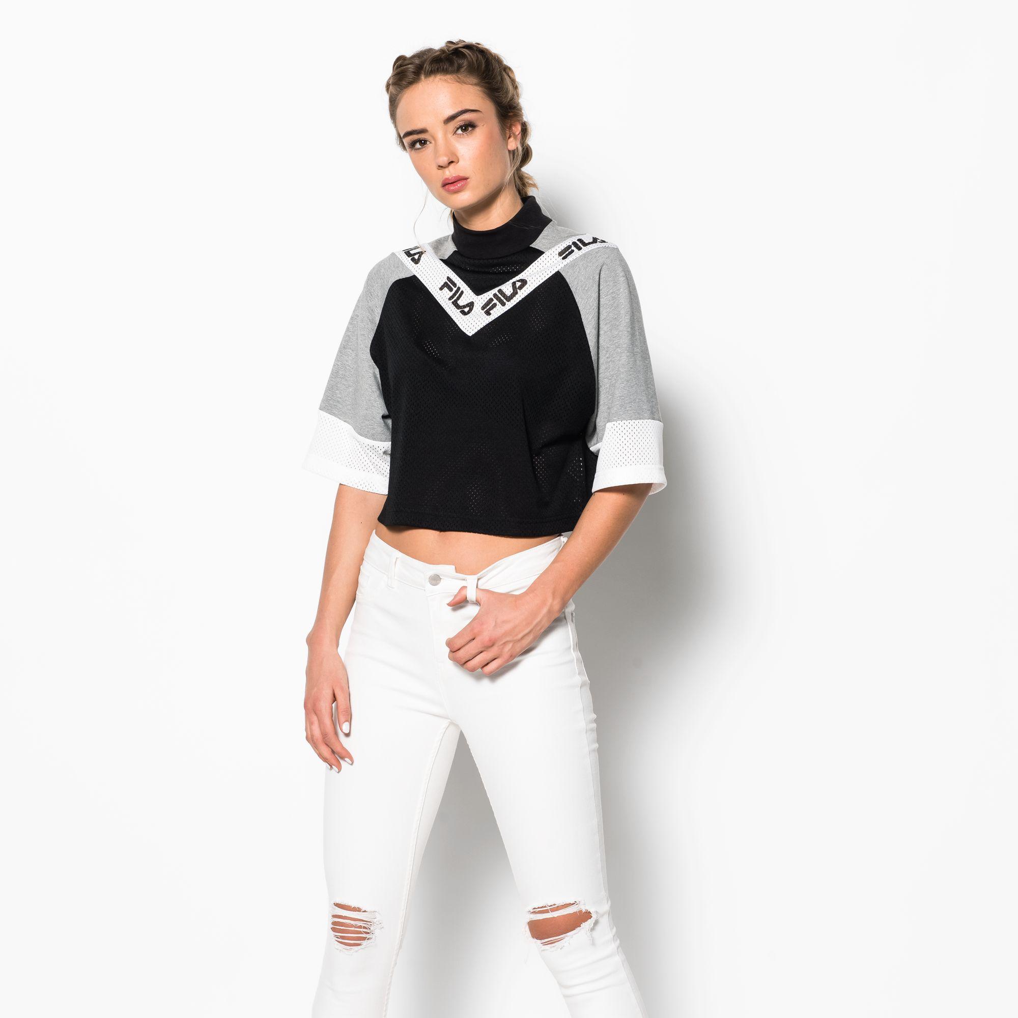 Addi Cut & Sew Crop T-Shirt
