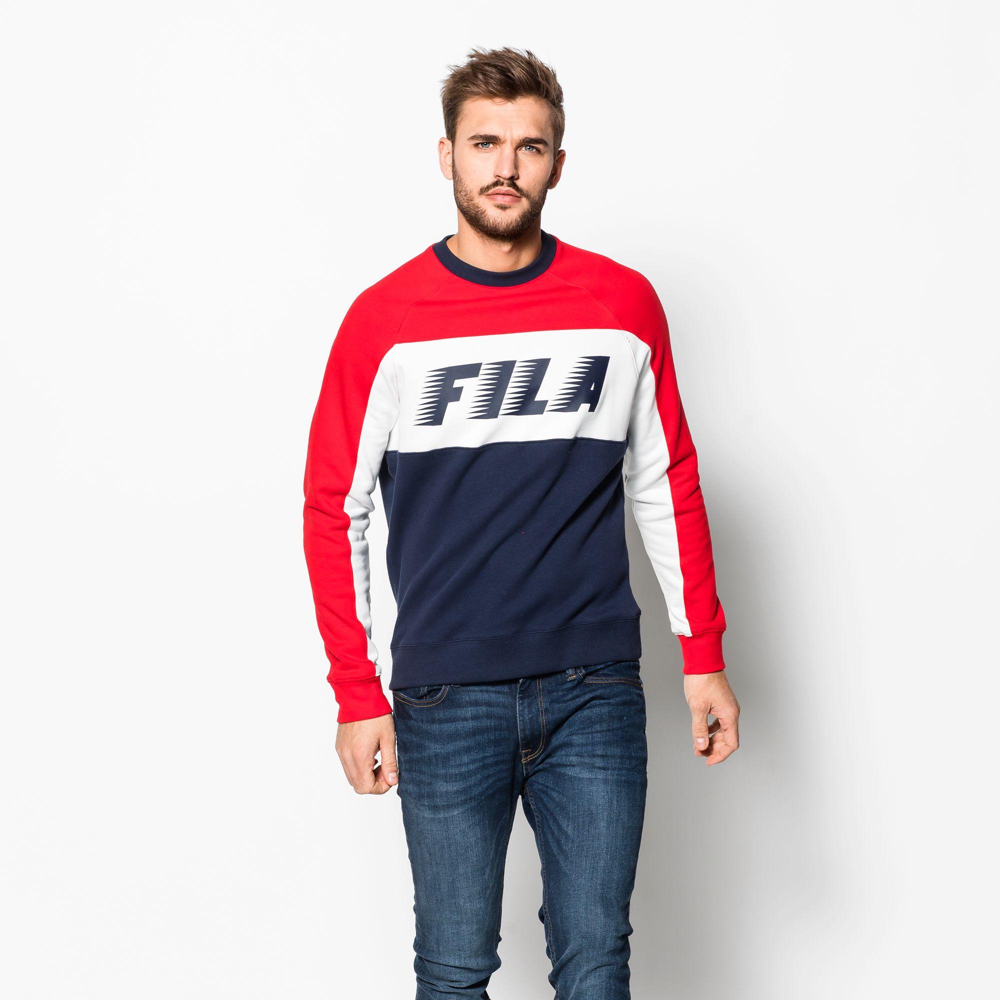 Layton Colour Block Sweater