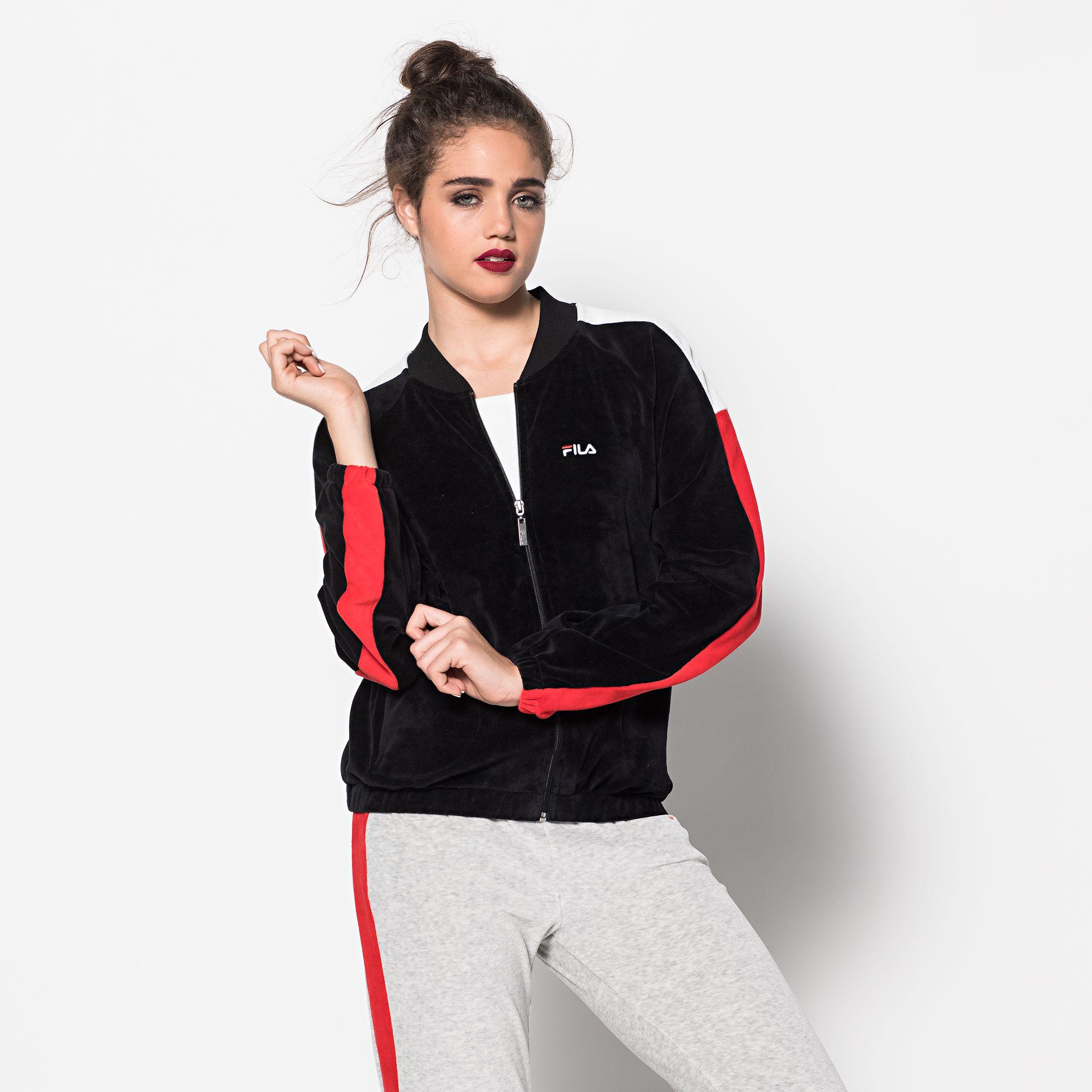 RomyTrack Jacket Velvet
