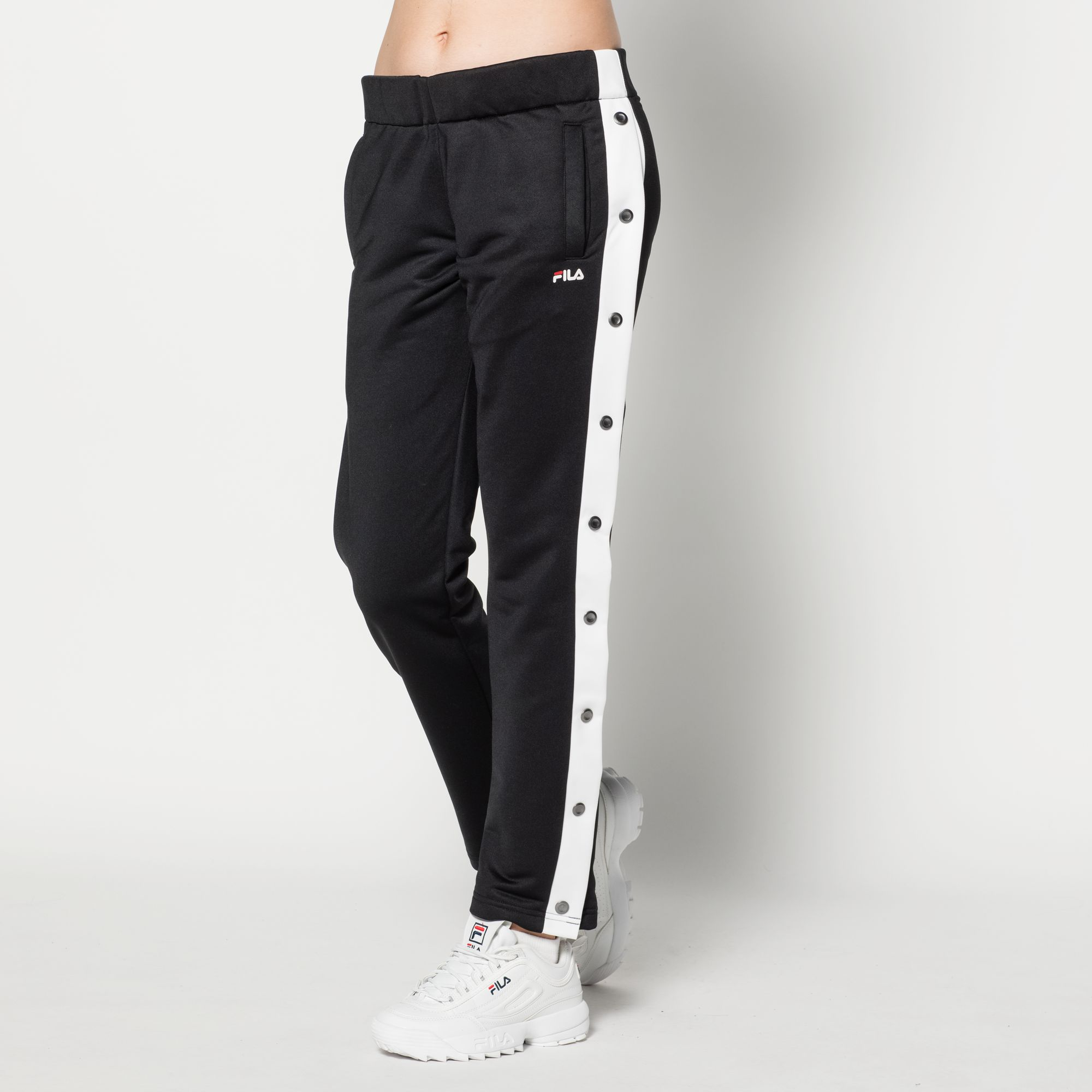 Victoria Buttoned Track Pants