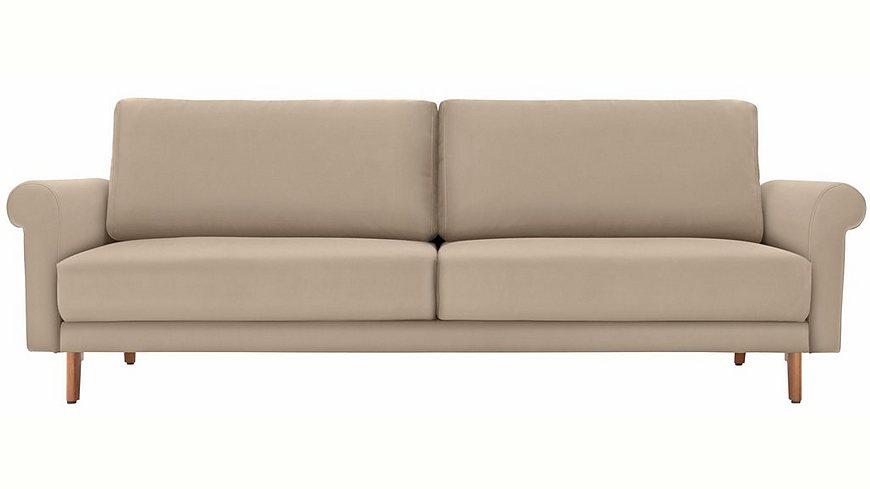 hülsta sofa 2-Sitzer Sofa »hs.450« wahlweise in Stoff oder Leder, im modernen Landhausstil