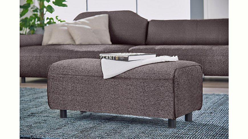 hülsta sofa Hockerbank »hs.480« wahlweise in Stoff oder Leder passend zur Polsterecke