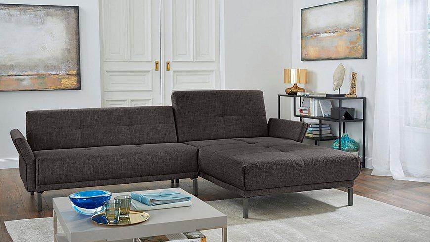 hülsta sofa Polsterecke »hs.410« mit verstellbaren Arm- und Rückenlehnen