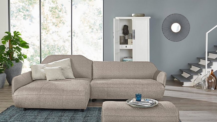 hülsta sofa Polsterecke »hs.480«, Designsofa wahlweise in Stoff oder Leder