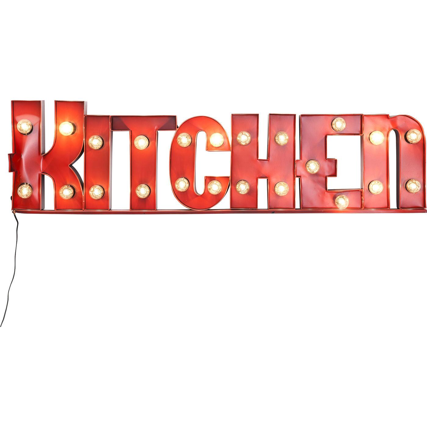 Leuchtobjekt Kitchen 23er