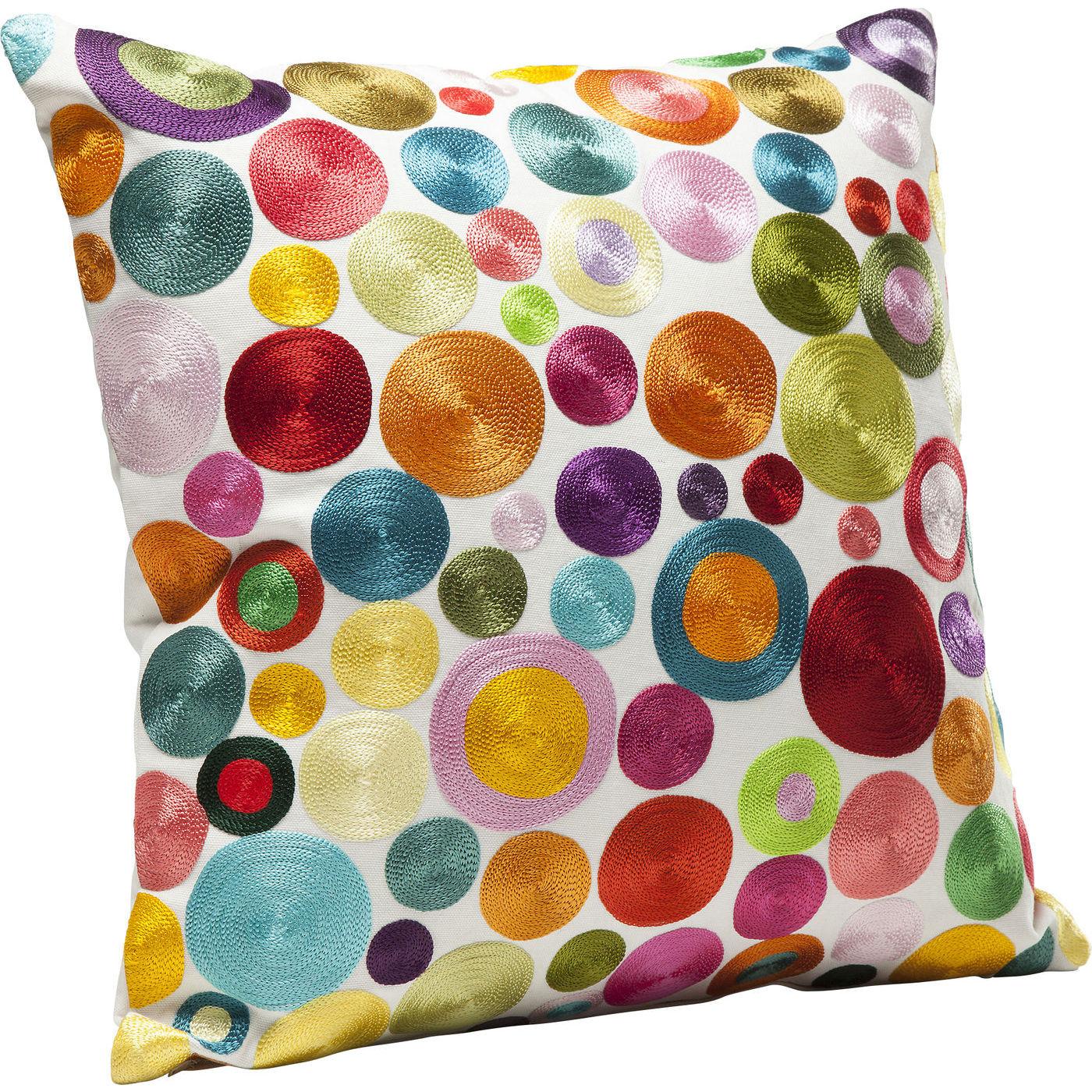 Kissen Circles Multi Colour 45x45cm