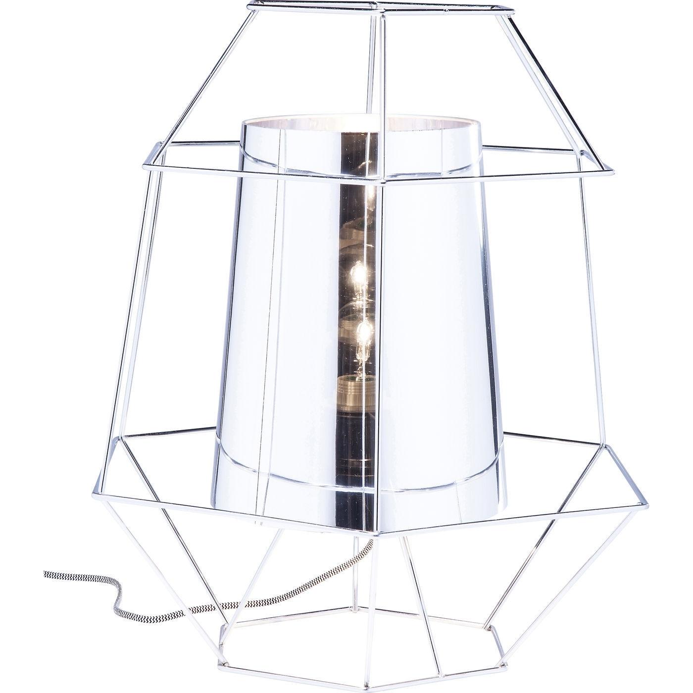 Tischlampe Wire Silber