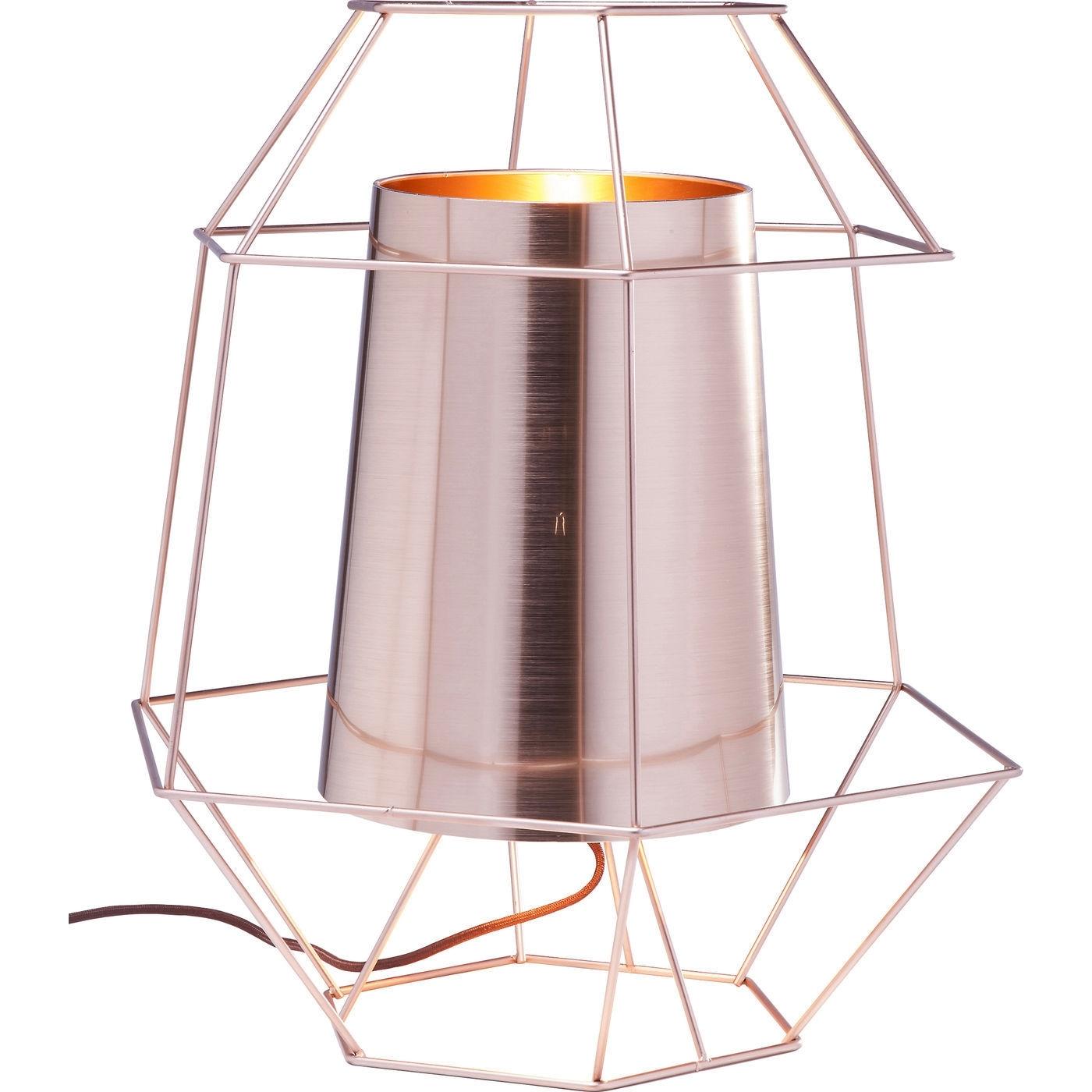 Tischlampe Wire Kupfer
