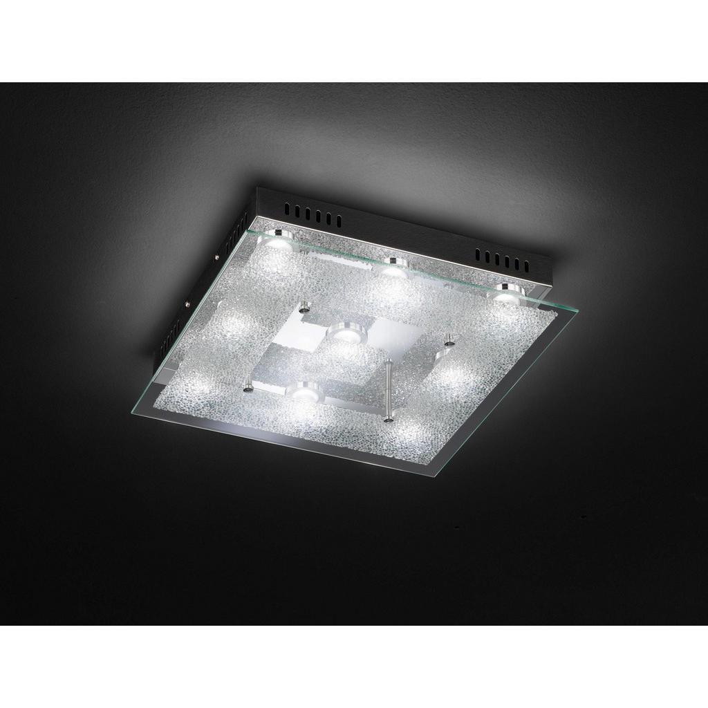 XXXL LED-DECKENLEUCHTE, Silber