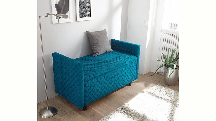 reposa Hockerbank »POSTO« designed by Emell Gök Che, mit flexibler Stauraumeinteilung
