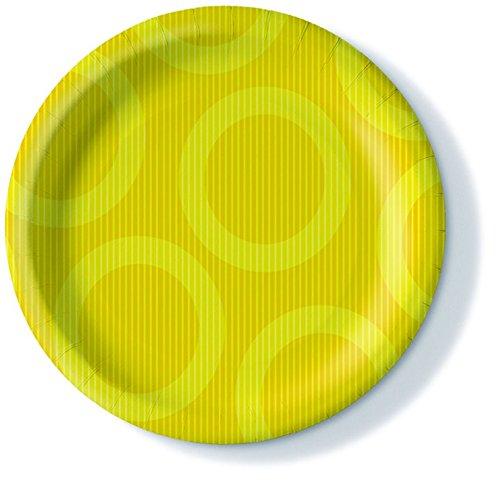 10er Pack Pappteller Farbauswahl möglich 0,2l