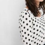 Punkte-Shirt