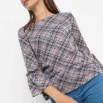 ¾-Shirt mit Glockenärmeln