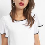 Business-Shirt mit Zierblenden