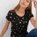 T-Shirt mit Blümchen