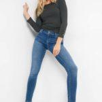 Skinny Jeans mit Ziernaht