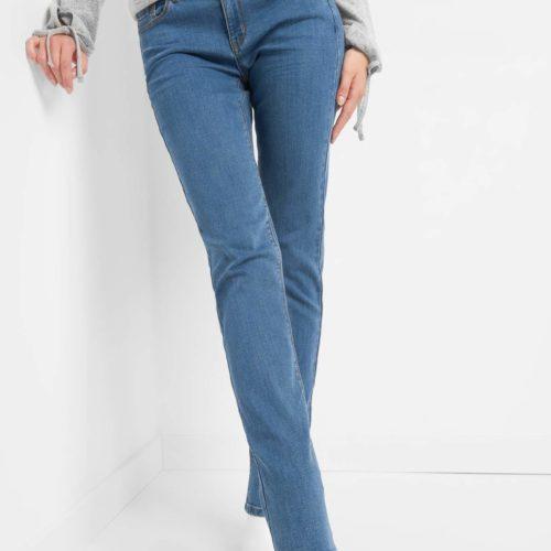 Straight Jeans mit Details