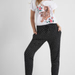 Jogger Hose mit Muster