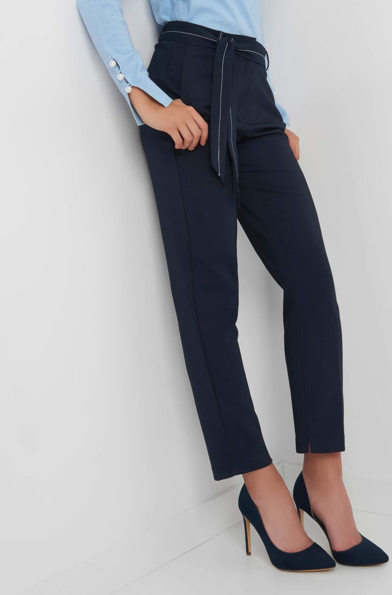 Ankle Hose mit Ziernaht