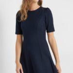 A-Shape Kleid mit Puffärmel