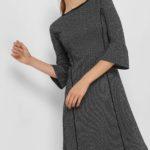 Jaquard-Kleid